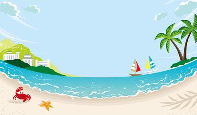 夏の海は楽しい